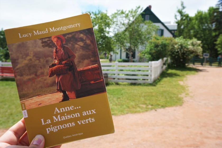 Anne La maison aux pignons verts Lucy Maud Montgomery Québec Amérique livre roman lecture jeunesse classique Canada Le fil rouge