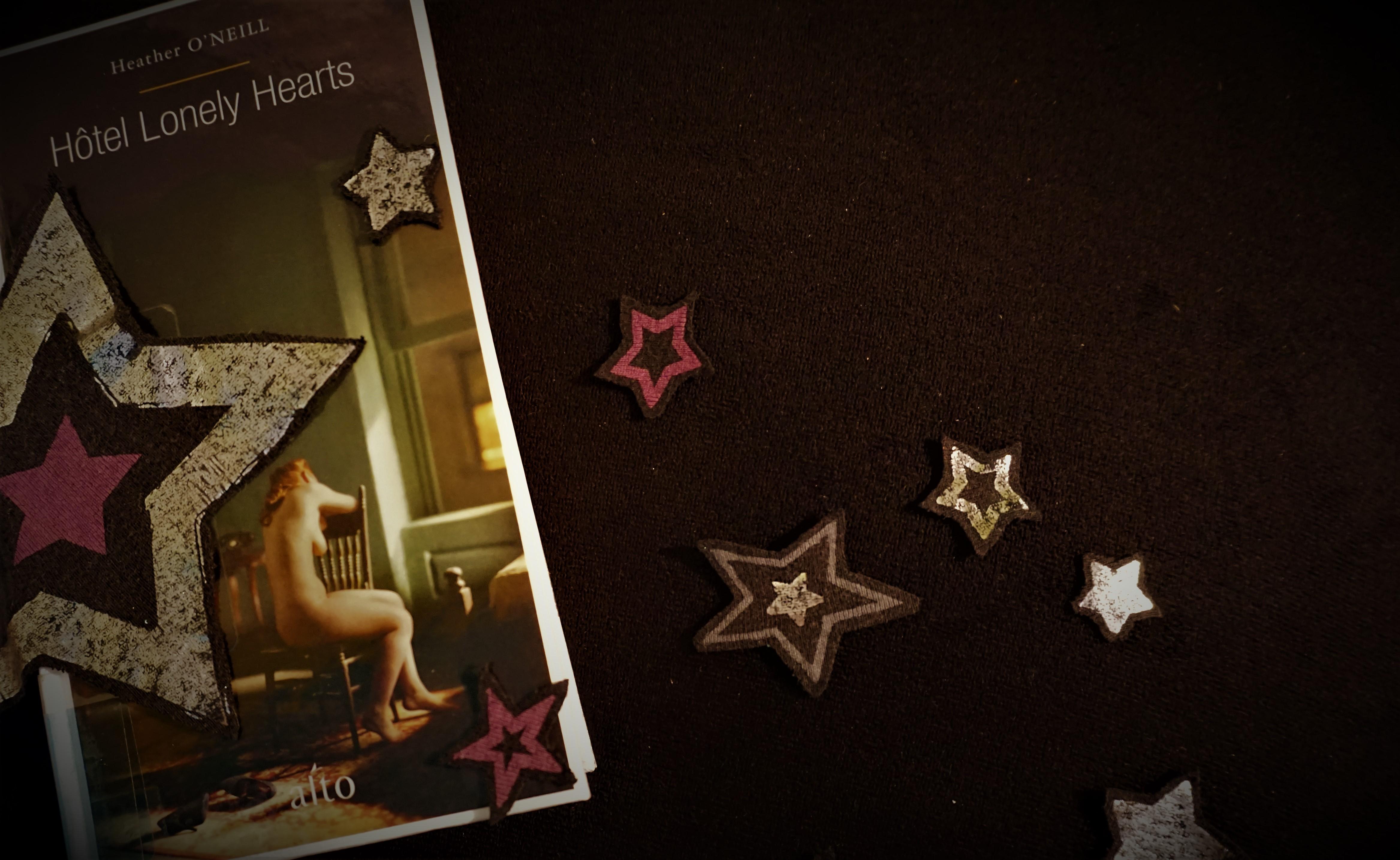 Hôtel Lonely Hearts Heather O'Neill Alto roman amour cirque pauvreté spectacle historique Montréal littérature Le fil rouge réflexions littéraires