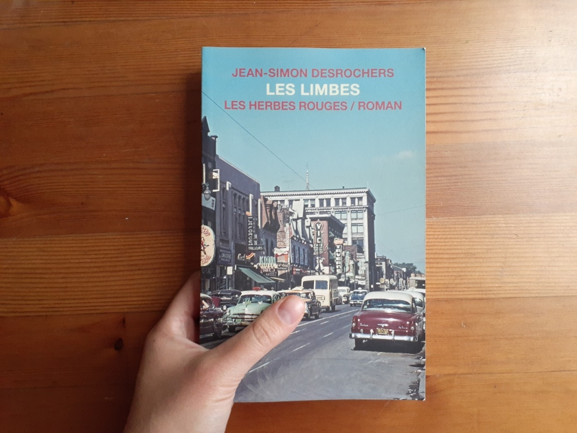Le fil rouge, Le fil rouge lit, #Lefilrouge, #Lefilrougelit, Bibliothérapie, Lecture, Littérature, Roman, Les Limbes, Jean-Simon Desrochers, Les herbes rouges, Red Light, Montréal, Ti-Best, Ville
