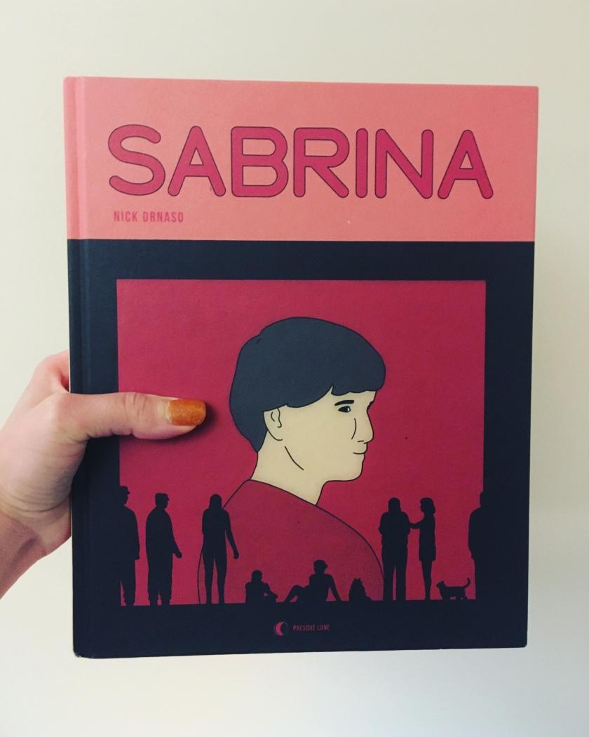 bande dessinée, roman graphique, sabrina, nick drnaso, fake news, désinformation, théories du complot, le fil rouge, le fil rouge lit