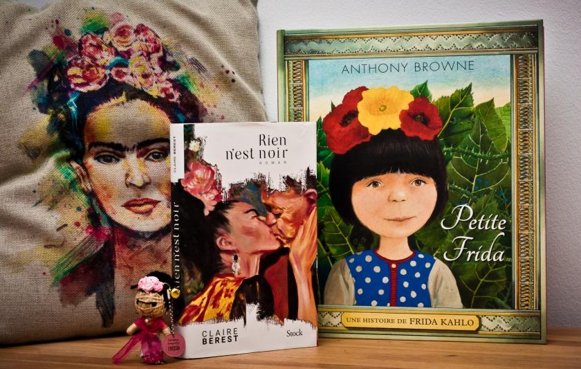 Frida, Frida Kahlo, Rien n'est noir,, Petite Frida, Claire Berest, Anthony Browne, littrature jeunesse, littérature française, littérature, art, le fil rouge, le fil rouge lit