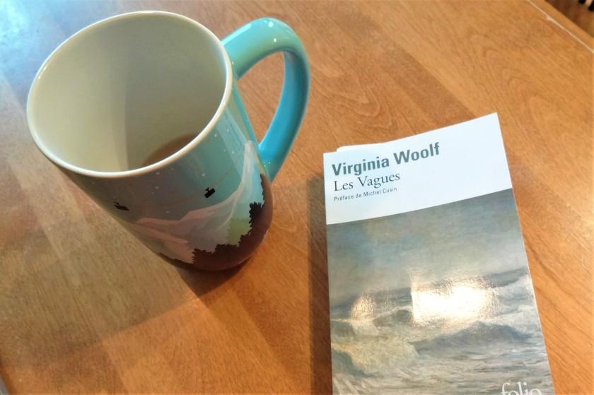 Les vagues Virginia Woolf Folio classique roman livre lecture littérature lyrique poésie