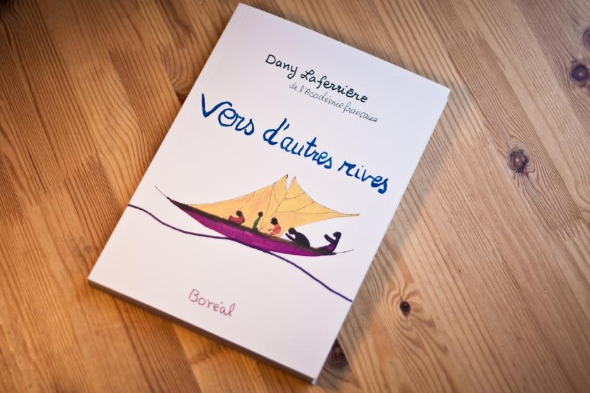 Vers d'autres rives, Dany Laferrière, Boréal, autobiographie, dessins, le fil rouge, le fil rouge lit, littérature québécoise